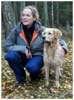 September 2009 Grattis Mia och Skorpan, Up Swing Förtjusande Dee Dee som tog ett 3:e pris i ökl på jaktprov.